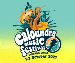 CMF logo Caloundra Music Festival 2021