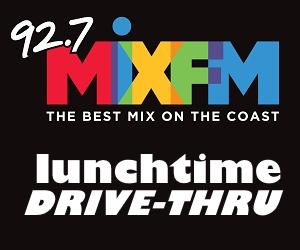MIX Drive Thru Banner